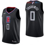 Los Angeles Clippers - Maillot NBA Sindarius Thornwell 0 Noir Statement 2017/2018