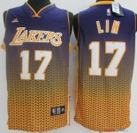 Los Angeles Lakers - Maillot NBA Lin 17 Or Retentisse Fashion