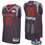 2017 All Star - Maillot NBA klay Thompson 11 Charbon