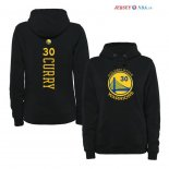 Golden State Warriors - Sweat Capuche NBA Stephen Curry 30 Noir