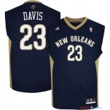 New Orleans Pelicans - Maillot NBA Anthony Davis 23 Noir