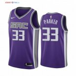 Sacramento Kings-Maillot NBA Jabari Parker 33 Pourpre Icon 2019/2020