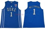 Duke - Maillot NCAA Zion Williamson 1 Bleu