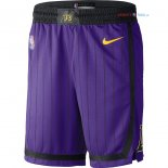 Los Angeles Lakers - Pantalon NBA Nike Pourpre Ville 2018/2019