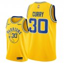 Golden State Warriors - Maillot NBA Stephen Curry 30 Jaune Ville 2018/2019