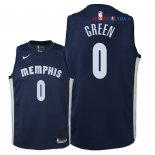 Memphis Grizzlies - Maillot Junior NBA JaMychal Green 0 Marine Icon 2018