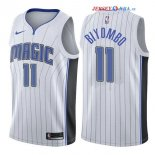 Orlando Magic - Maillot NBA Bismack Biyombo 11 Blanc Association 2017/2018