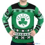 Boston Celtics - NBA Unisex Ugly Sweater Vert