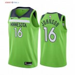Minnesota Timberwolves-Maillot NBA James Johnson 16 Vert Statement 2019/2020