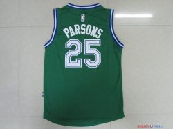 Dallas Mavericks - Maillot NBA Chandler Parsons 25 Vert