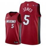 Miami Heat - Maillot NBA Derrick Jones Jr 5 Rouge Statement 2018