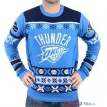 Oklahoma City Thunder - NBA Unisex Ugly Sweater Bleu