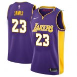 Los Angeles Lakers - Maillot Junior NBA Lebron James 23 Pourpre Statement 2017/2018