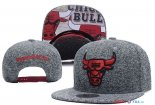 Chicago Bulls - 2017 Casquette NBA Gris 6