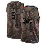 Washington Wizards - Maillot NBA Juwan Howard 5 Camo Swingman Collection Realtree 2018