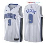 Orlando Magic - Maillot NBA Nikola Vucevic 9 Blanc Association 2017/2018