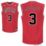 Chicago Bulls - Maillot NBA Doug McDermott 3 Rouge