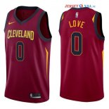 Cleveland Cavaliers - Maillot NBA Kevin Love 0 Rouge Icon 2017/2018