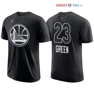 2018 All Star - Maillot NBA Draymond Green 23 Noir Manche Courte