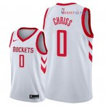 Houston Rockets - Maillot NBA Marquese Chriss 0 Blanc Association 2018