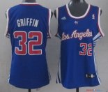 Los Angeles Clippers - Maillot Femme NBA Blake Griffin 32 Bleu