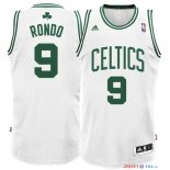 Boston Celtics - Maillot NBA Rajon Rondo 9 Blanc
