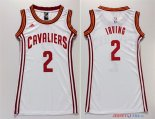 Cleveland Cavaliers - Maillot Femme NBA Kyrie Irving 2 Blanc