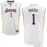 Los Angeles Lakers - Maillot NBA D'Angelo Russell 1 Blanc