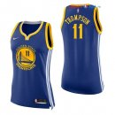 Golden State Warriors - Maillot Femme NBA Klay Thompson 11 Bleu Icon 2017/2018