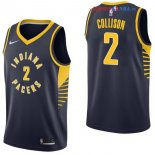 Indiana Pacers - Maillot NBA Darren Collison 2 Marine Icon 2017/2018