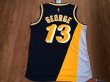 Indiana Pacers - Maillot NBA Paul George 13 Retro Noir