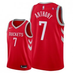 Houston Rockets - Maillot NBA Carmelo Anthony 7 Rouge Icon 2018