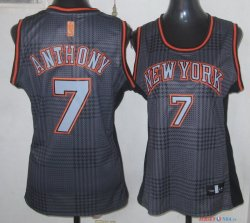 2013 Static Fashion - Maillot Femme NBA Carmelo Anthony 7