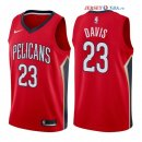 New Orleans Pelicans - Maillot NBA Anthony Davis 23 Rouge Statement 2017/2018