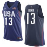 2016 USA - Maillot NBA Paul George 13 Bleu