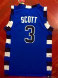 Film Basket-Ball Tree Hill - Maillot NBA Scott 3 Bleu
