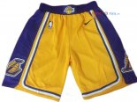 Los Angeles Lakers - Pantalon NBA Nike Jaune 2018/2019