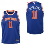 New York Knicks - Maillot Junior NBA Frank Ntilikina 11 Bleu Icon