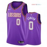 Phoenix Suns - Maillot NBA Isaiah Canaan 0 Nike Pourpre Ville 2018/2019