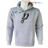 San Antonio Spurs - Sweat Capuche NBA Nike Gris
