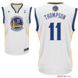Golden State Warriors - Maillot NBA Klay Thompson 11 Blanc