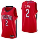 New Orleans Pelicans - Maillot NBA Ian Clark 2 Rouge Statement 2017/2018