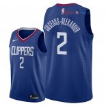 Los Angeles Clippers - Maillot NBA Shai Gilgeous Alexander 2 Bleu Icon 2018