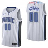 Orlando Magic - Maillot NBA Aaron Gordon 0 Blanc Association 2017/2018