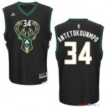 Milwaukee Bucks - Maillot NBA Giannis Antetokounmpo 34 Noir