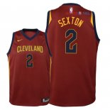 Cleveland Cavaliers - Maillot Junior NBA Collin Sexton 2 Rouge Icon 2018