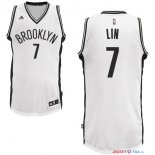 Brooklyn Nets - Maillot NBA Jeremy Lin 7 Blanc