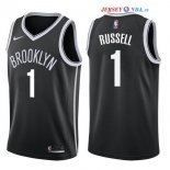 Brooklyn Nets - Maillot NBA D'Angelo Russell 1 Noir Icon 2017/2018