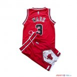 Chicago Bulls - Maillot Junior NBA Dwyane Wade 3 Rouge