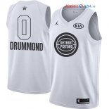 2018 All Star - Maillot NBA Andre Drummond 0 Blanc